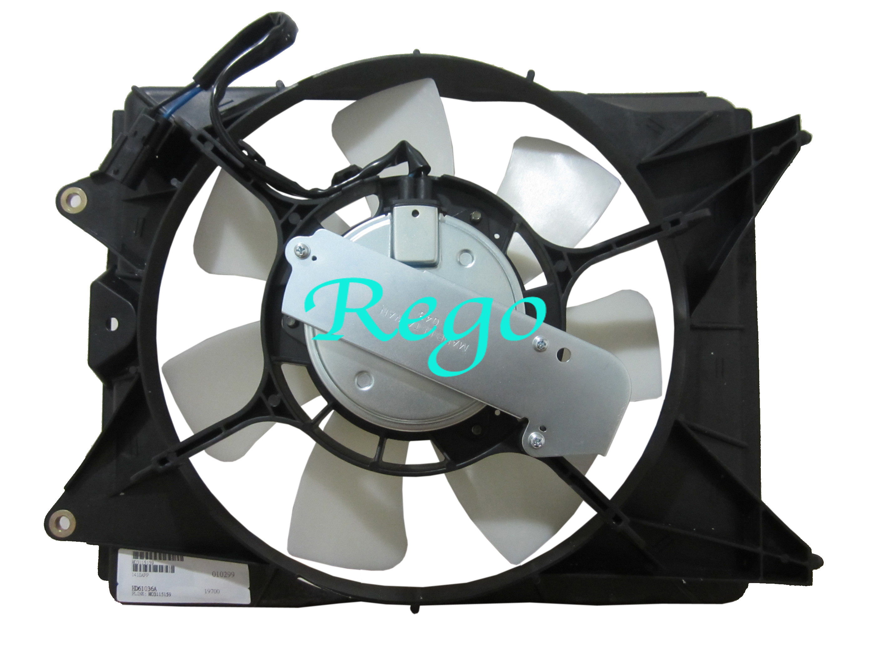 OEM Electric Car Radiator A / C Cooling Fans For Honda Civic SD 12 - 14